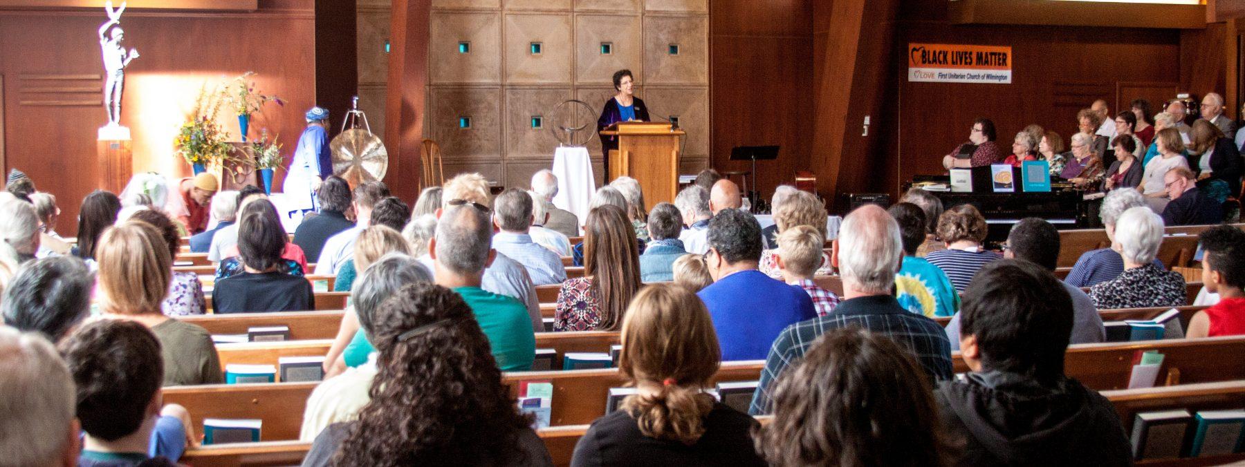 Sunday Worship Rev. Roberta Finkelstein