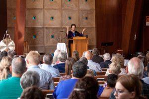 Rev. Roberta Preaching