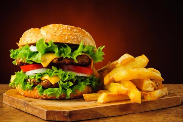 hamburger_fries