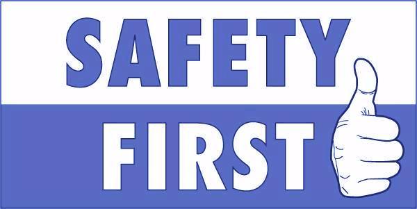 Safety First Clip Art