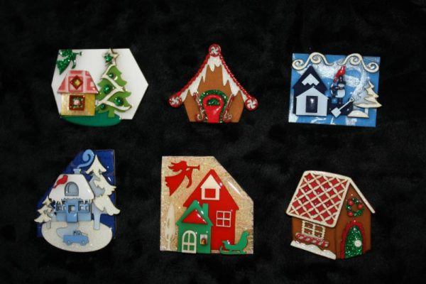 Christmas House Pins