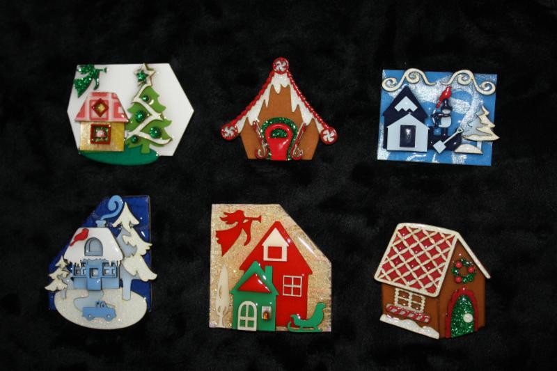 Christmas House Pins
