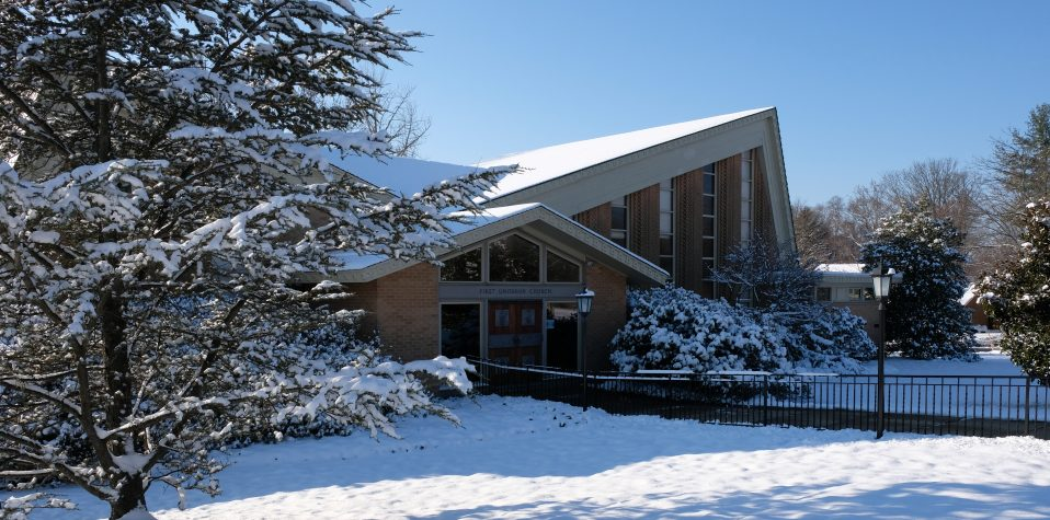 First U front of building in snow 2017